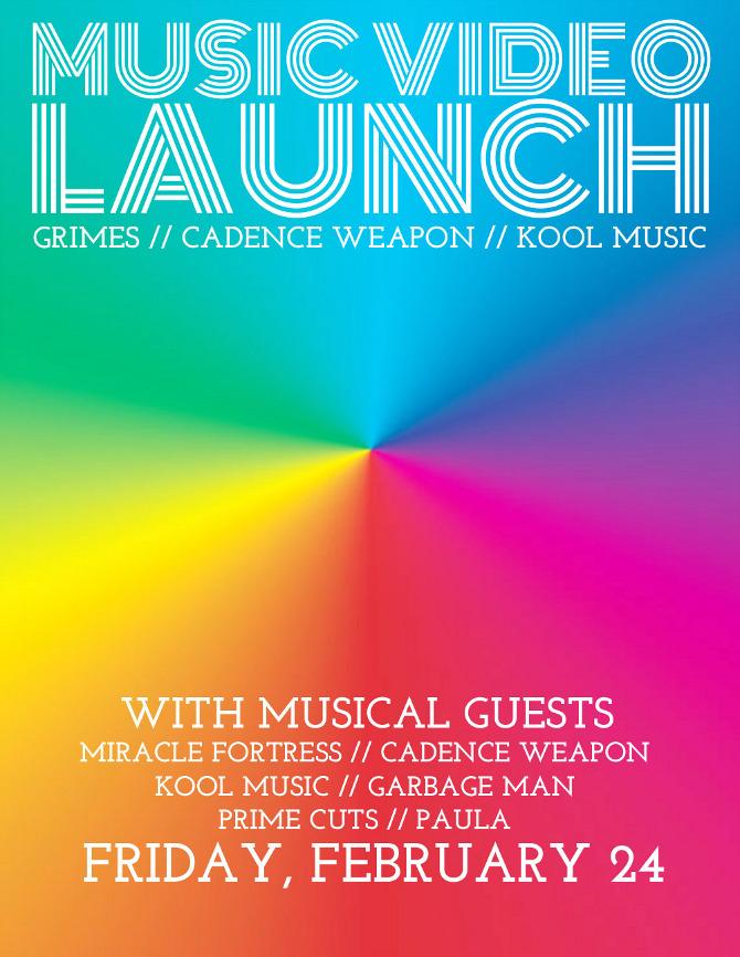 Music Video Launch Poster Erik Zuuring