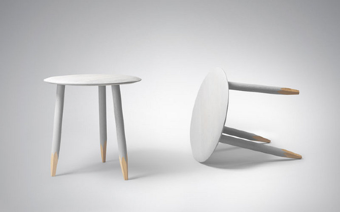 Hoof Table by Samuel Wilkinson on thisispaper.com