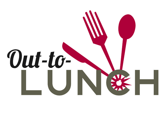 Out-to-lunch Logo - Maggie Whitaker Graphic Designer