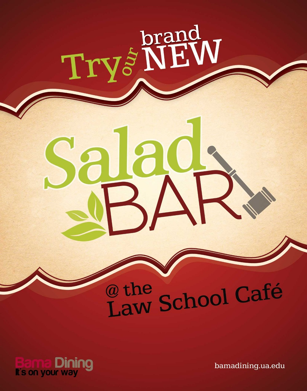 Salad Bar Logo Law school salad bar