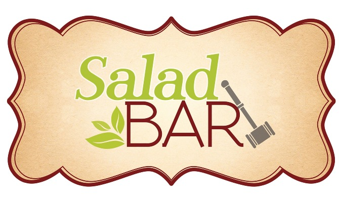 This Is A Logo And Poster Design For The New Salad Bar At Law School On Campus