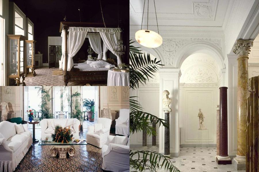 Overview Of Villa Interior Villa Tritone Sorrento